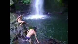 Handi Dahamaa paudi kheldai/ Swimming in Handi Daha, POKALI, OKHALDHUNGA,NEPAL