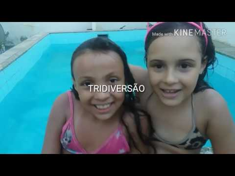 DESAFIO DA PISCINA COM A PRIMA (Pool Challenge With My Cousin) ▶1:48