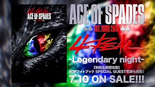 "ACE OF SPADES / 【TEASER】ACE OF SPADES 1st. TOUR 2019 ""4REAL"" -Legendary night-"