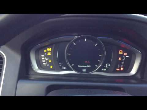 Volvo XC60 D4 MY2015 cold start engine without webasto at 28 C