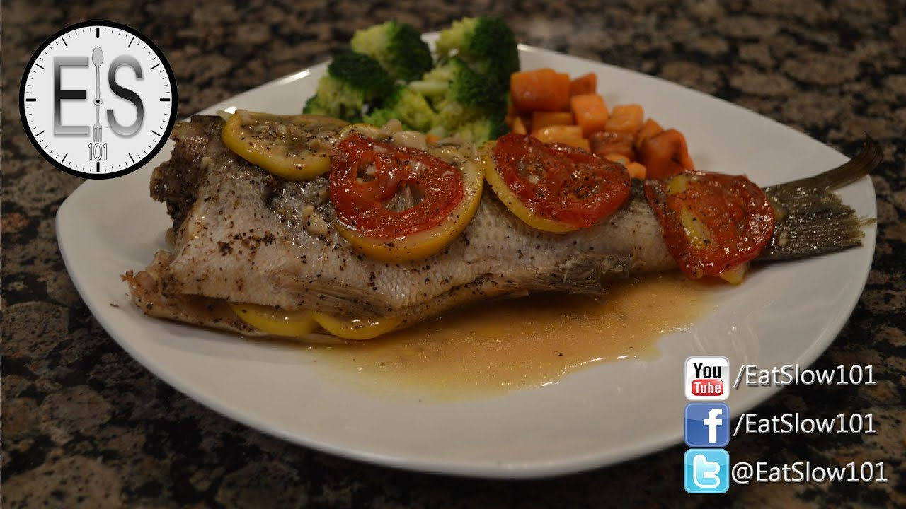 White bass recipe oven besto blog for Max fish menu
