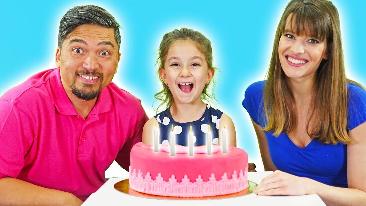 Happy Birthday spanish Version Feliz Cumpleaños LETSGOMARTIN Canciones Infantiles