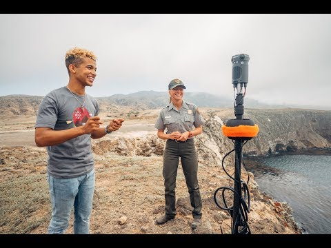 Channel Islands National Park 360 Video Tour with Jordan Fisher | Parks 101