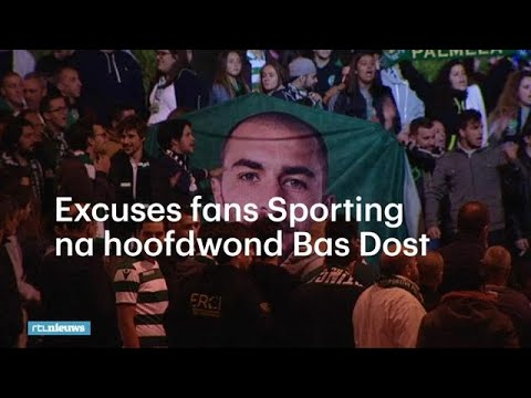 Excuses fans Sporting Lissabon na hoofdwond Bas Dost - RTL NIEUWS