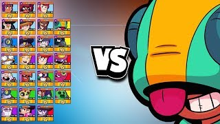 Leon 1v1 vs EVERY Brawler | Pint Sized POWERHOUSE