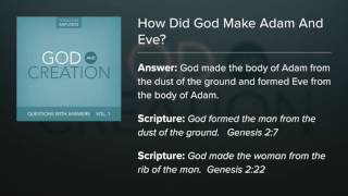 19. How Did God Make Adam And Eve? - Questions with Answers (Lyric Video) by Dana Dirksen