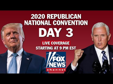 RNC Day 3 | Featuring Mike Pence, Kayleigh McEnany, Kellyanne Conway and others