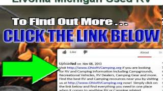 Used RV near Livonia Michigan