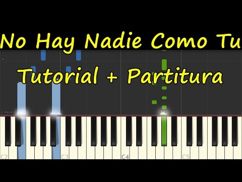 NO HAY NADIE COMO TU Piano Tutorial Completo Partitura PDF Sheet Music Midi Paul Wilbur thumbnail
