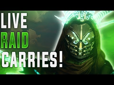 🔴 LIVE! Vault of Glass Challenge Mode Raid Carries! (Sponsor Edition)