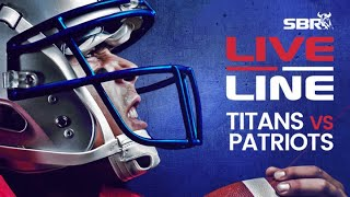 Titans vs. Patriots NFL Wild Card Weekend In-Game Bets | Live Line