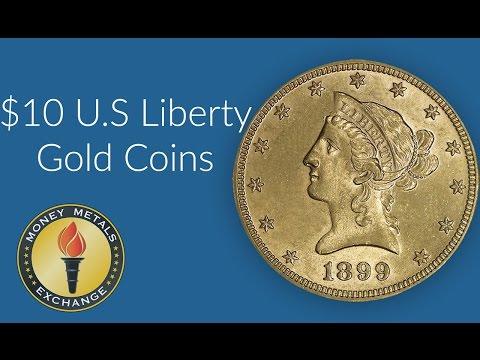 10 Dollar Gold Liberty Coin | U.S. Mint | Money Metals Exchange