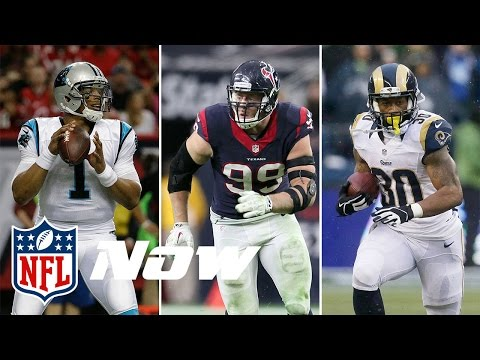 2015 NFL MVP, Defensive Player, & Rookies of the Year Awards | Scout vs. Scout on NFL Now