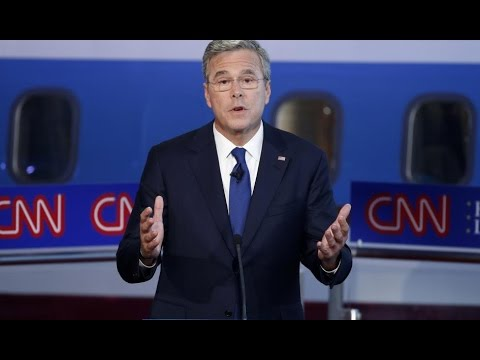 Jeb Bush Pretends GOP Candidates Aren