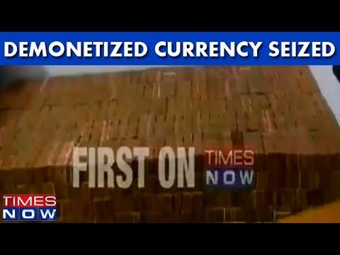 Uttar Pradesh: Demonetized Currency Seized In Kanpur