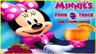 Baby TV Minnie's Food Truck with Minnie Mouse & Daisy Duck ✅BABYTV Cartoon & Games iPad
