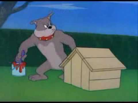 dog in tom and jerry