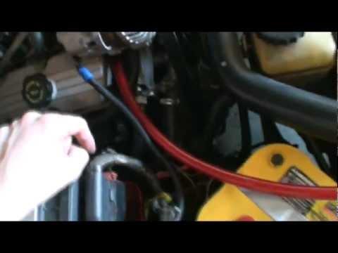 How To Commodore Big 3 Upgrade Amp High Output Alternator