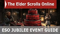 ESO Anniversary Jubilee Event Guide (2020) | NEW Icebreath Mount and Motif Styles