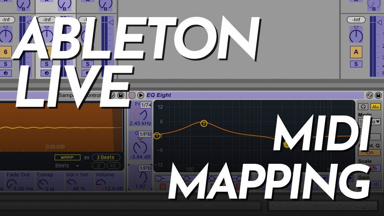 MIDI Mapping In Ableton Live - Ableton Live Tutorial for Beginners -  Soundgrains