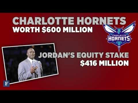 Michael Jordan Is The 1st bball player billionaire