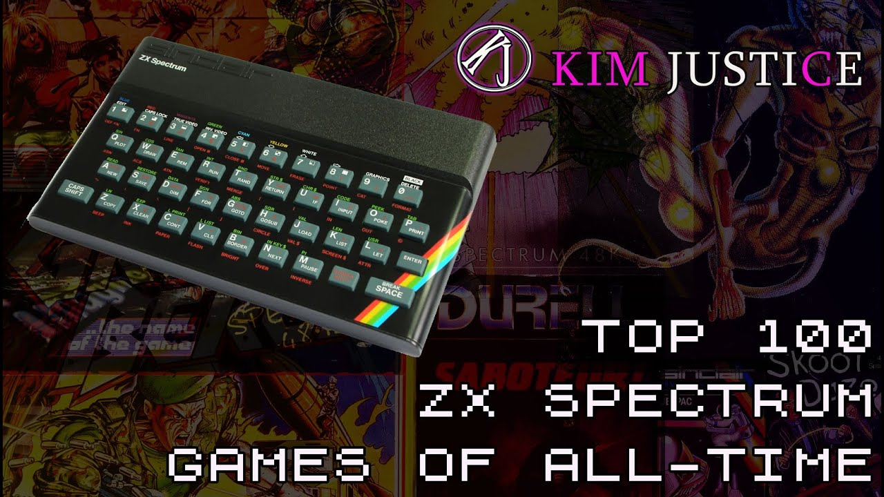 Kim Justice's Top 100 ZX Spectrum Games of All-Time – Retrounlim