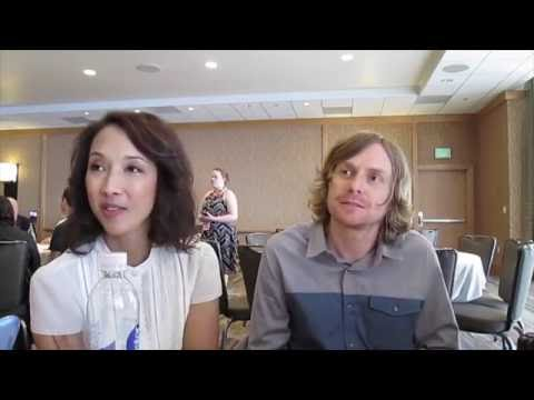 Maurissa Tancharoen & Jed Whedon for Marvel's Agents of SHIELD at SDCC 2016