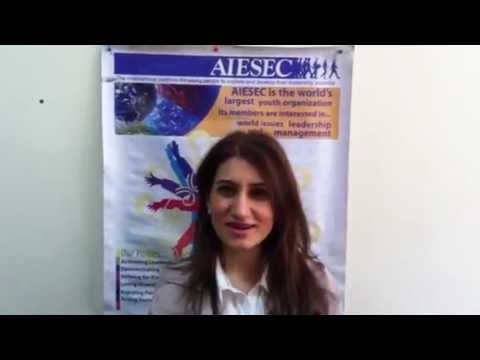 AIESEC in Armenia Hello World Project invitation for AIESEC in Lebanon