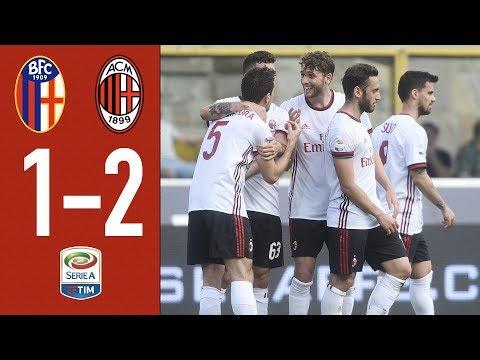 Highlights Bologna 1-2 AC Milan - Serie A 2017/2018