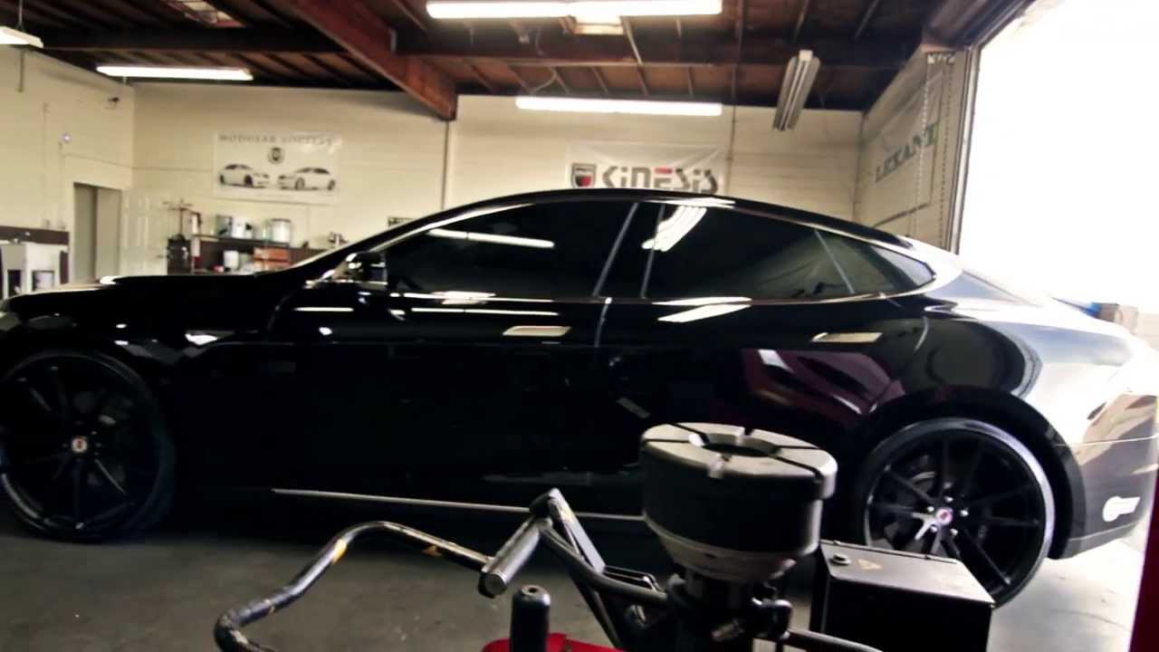 2014 Tesla Model S P85 With Hre Rims Youtube