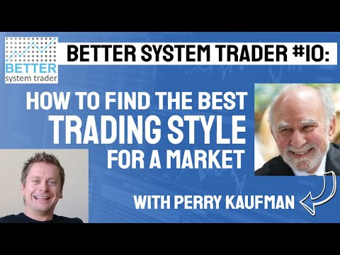 010 Perry Kaufman discusses market noise, price shocks, volatility and the Information Ratio