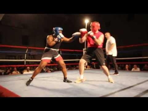 Chris Stafford Stefan Dill Fight Night XIV Bermuda March 10 2012