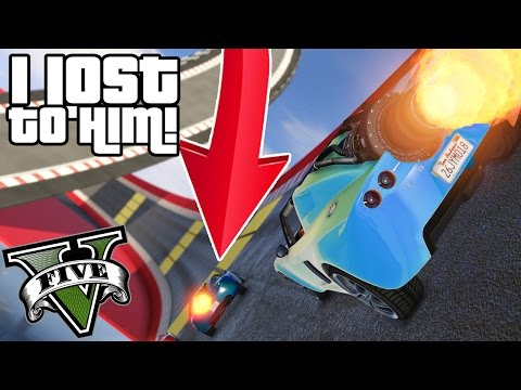 HOW DID I LOSE THIS RACE?!! - GTA V FUNNY MOMENTS!! #6