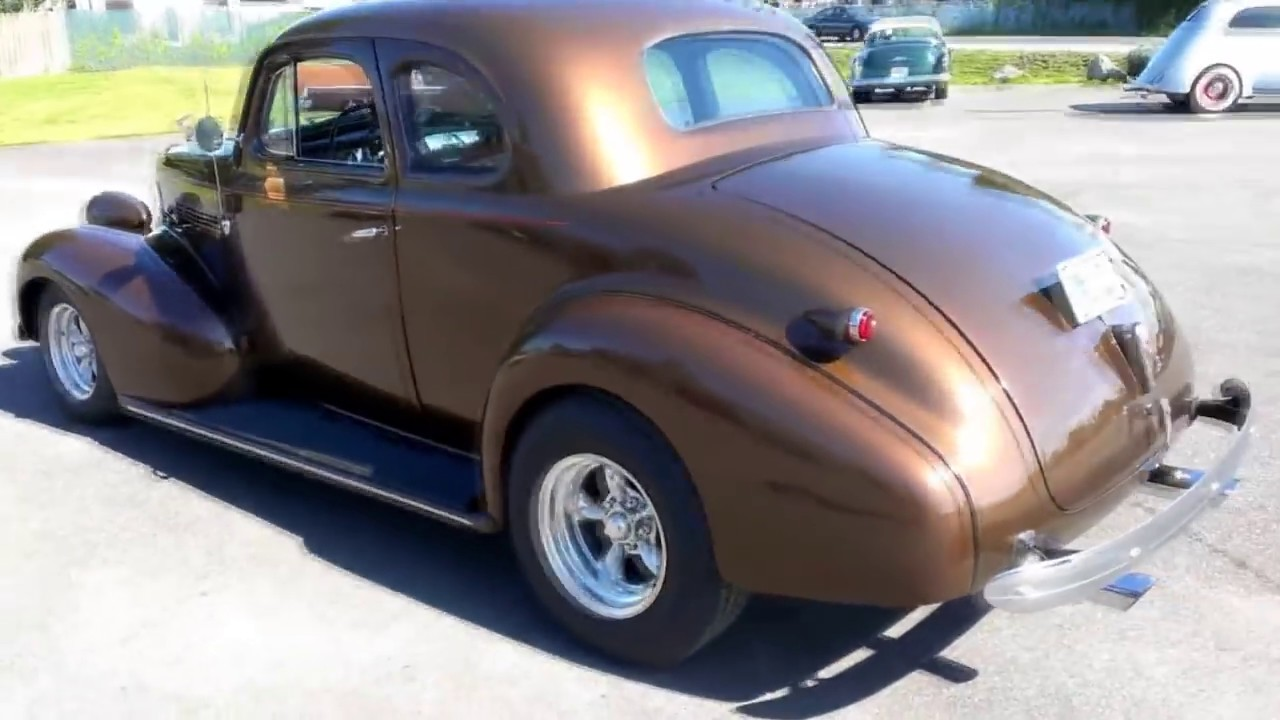 1939 Chevy Master Deluxe Business Coupe Youtube