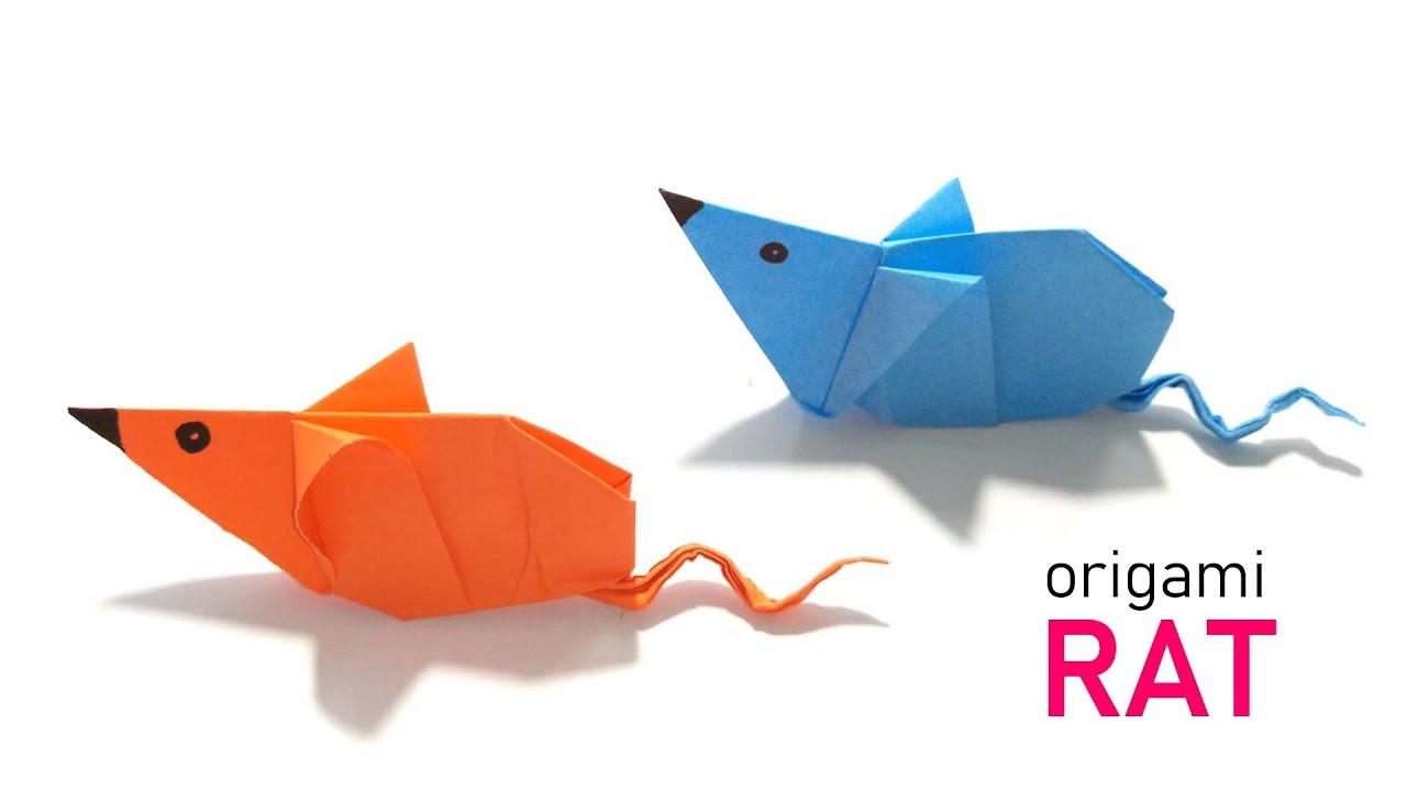 3d origami art : how to make easy origami animals for kids | 720x1280