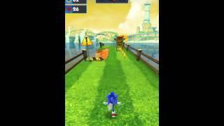 [Sonic Dash] Boss new record