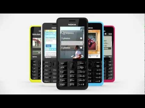 Nokia 301 Dual SIM phone