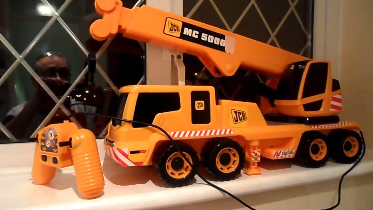 Remote Control Jcb Truck Crane Construction Vehicle Toy Youtube