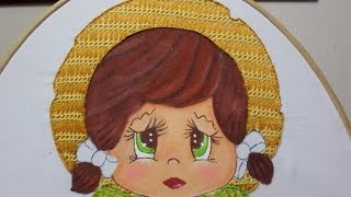 Bordado Fantasía Sombrero Niña Tuna
