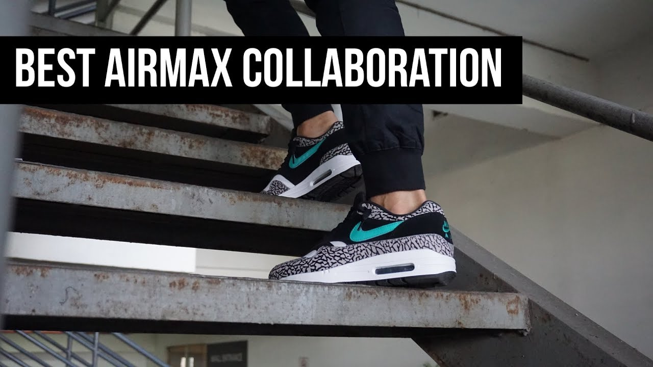 The Snkrs Best Nike Air Max Collab Airmax 1 Atmos Youtube