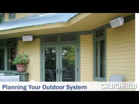 How To Choose Outdoor Speakers | Crutchfield Video
