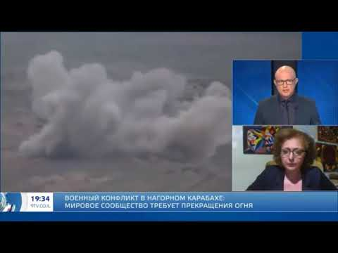 Война в Арцахе Сурен Карапетов, интервью на 9 канале ИТВ