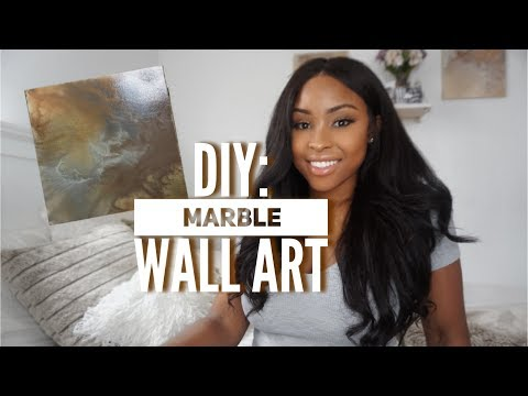 Marble Decor! | DIY WALL ART