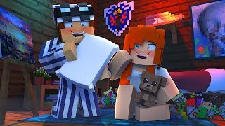 She INTERRUPTED Our Sleepover ?! | Minecraft Spies