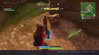 Fortnite online game play