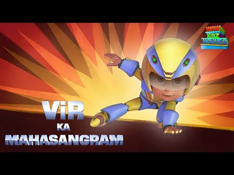 Vir The Robot Boy | Mahasangram 2 | Full Movie | Cartoons For Kids | Wow Kidz Movies