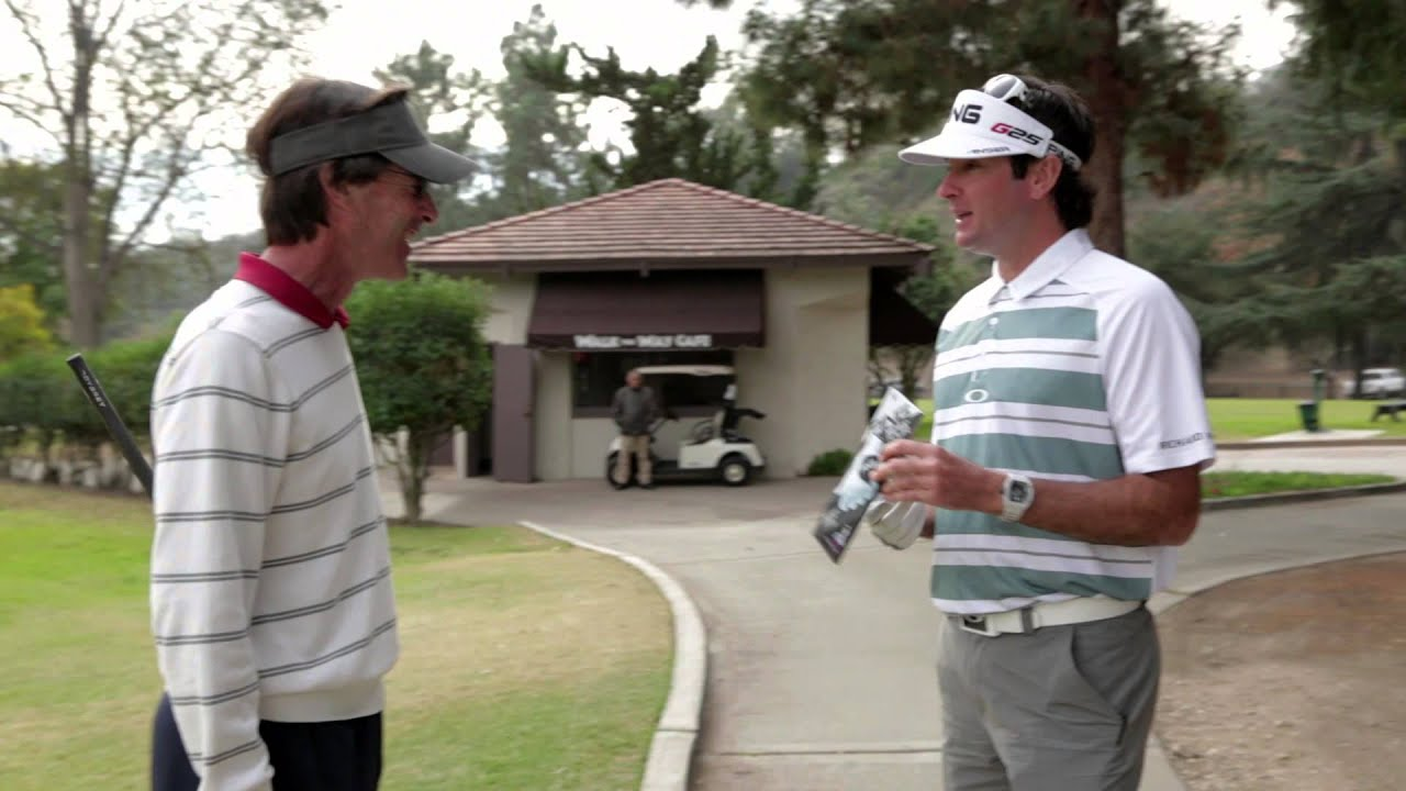 Feel The Glove: Bubba Watson Fires Off T-Shirts and Ping Golf Gloves at Calif. Course