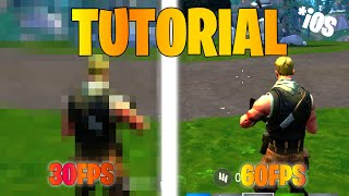 HOW TO GET 60FPS ON FORTNITE MOBILE *2019*WORKING