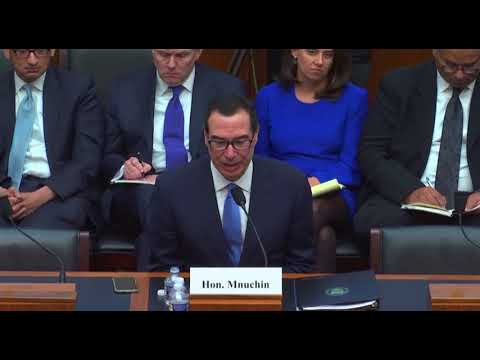 Secretary Mnuchin Unsure if Treasury is Following OMWI Law