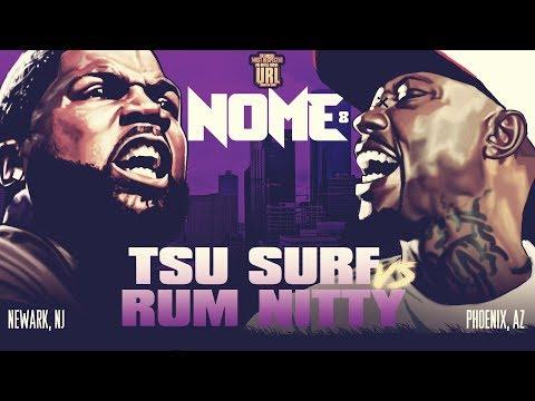 TSU SURF VS RUM NITTY SMACK URL RAP BATTLE URLTV